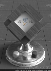 Brushed Metal VRay