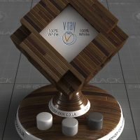 3ds max Vray Walnut Material