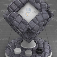 Cobblestone Paving VRay Material