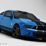 Ford Mustang GT500 Front 3D Render