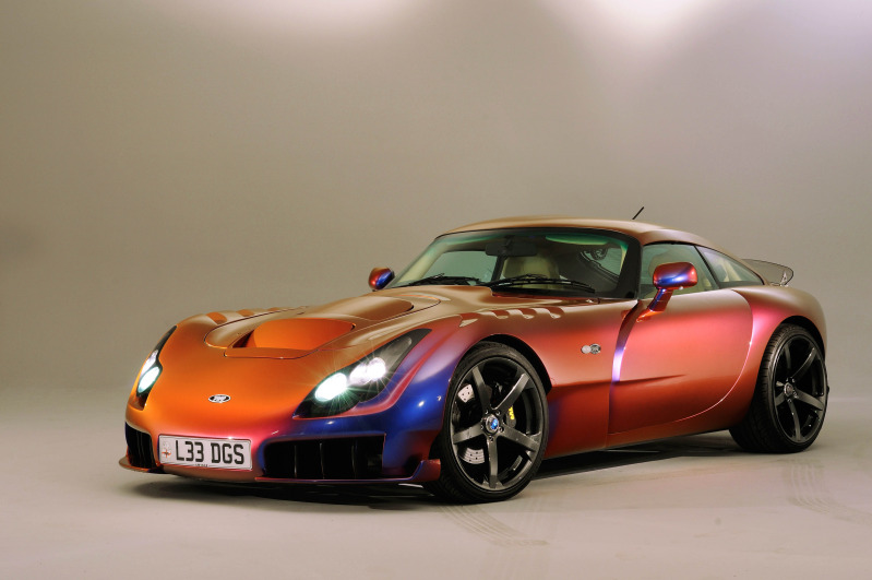 TVR Sagaris Car Paint Material