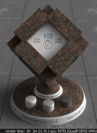 Bark VRay Material
