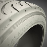 tyre 3d model clay render