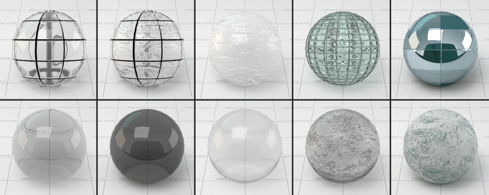 Building Glass Material Vray