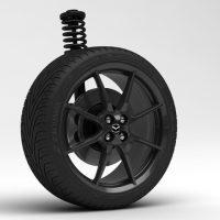 2015 New Mazda MX-5 Wheel 3D Model