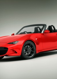 New 2015 Mazda MX5 3D Model Render Download
