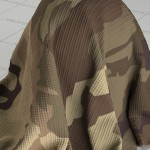 Military Camo Fabric Material Texture