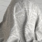 Embossed Wallpaper Vray Material FREE Download