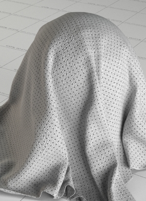 White Perforated Leather Vray Material FREE Download
