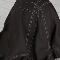 Stiched Leather Vray Material FREE Download