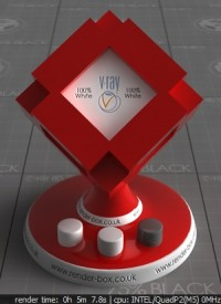 VRay Red Car Paint Material 3Ds Max